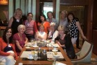 Photo of 11 expat ladies at Bangkok Old Girls Society Lunch June 2015